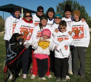 Christa Quilts Family Thanksgiving Race 2010