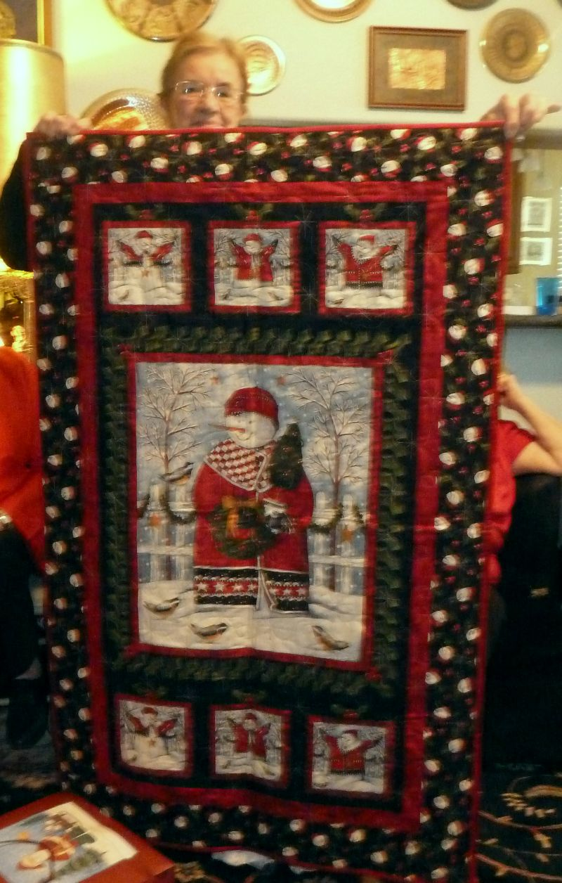 Christmas Quilt Guild Party – Christa Quilts : handmade christmas quilts - Adamdwight.com