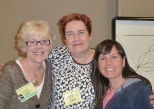 Judy, Charlotte and Christa