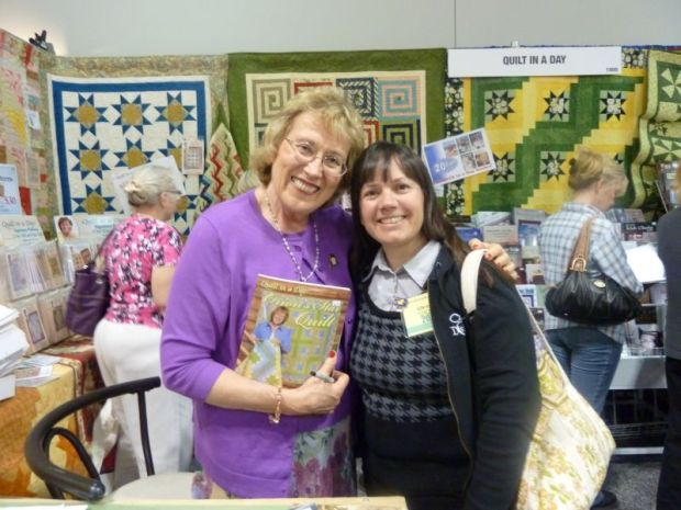 Christa Quilts Meets Quilt in a Day