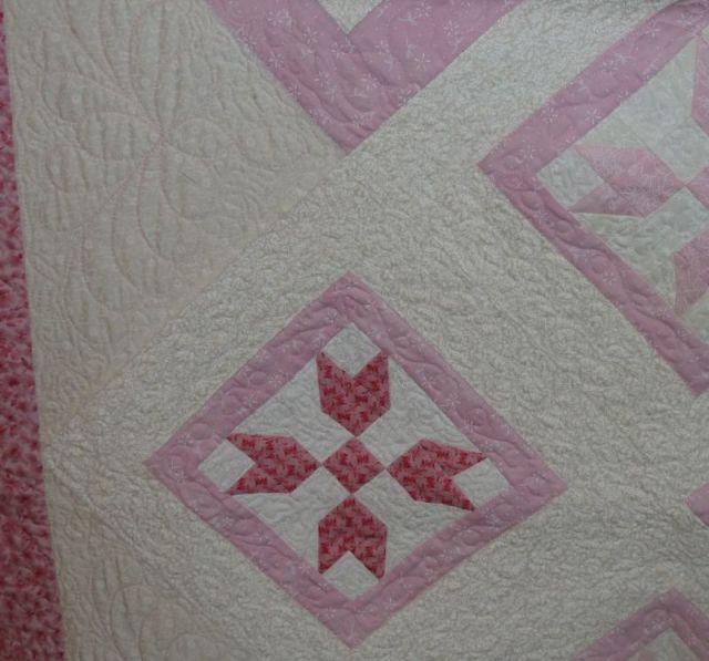 Quilt Pink Closeup