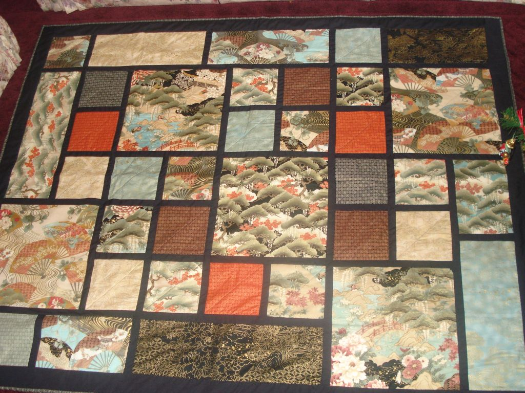 Oriental Quilting Fabric Hoffman Oriental Quilt