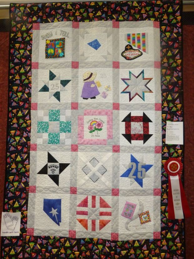 Christa s award winning quilts christa quilts for Space shuttle quilt