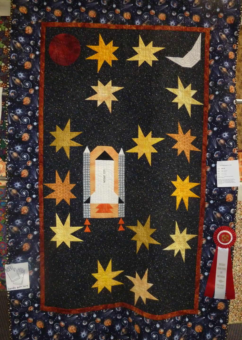 space shuttle quilt pattern - photo #20