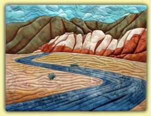 Quilted Landscape