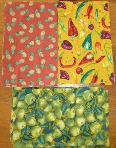 Fruits & Veggies Fabric
