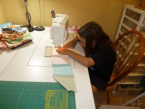 Big Girl Sewing