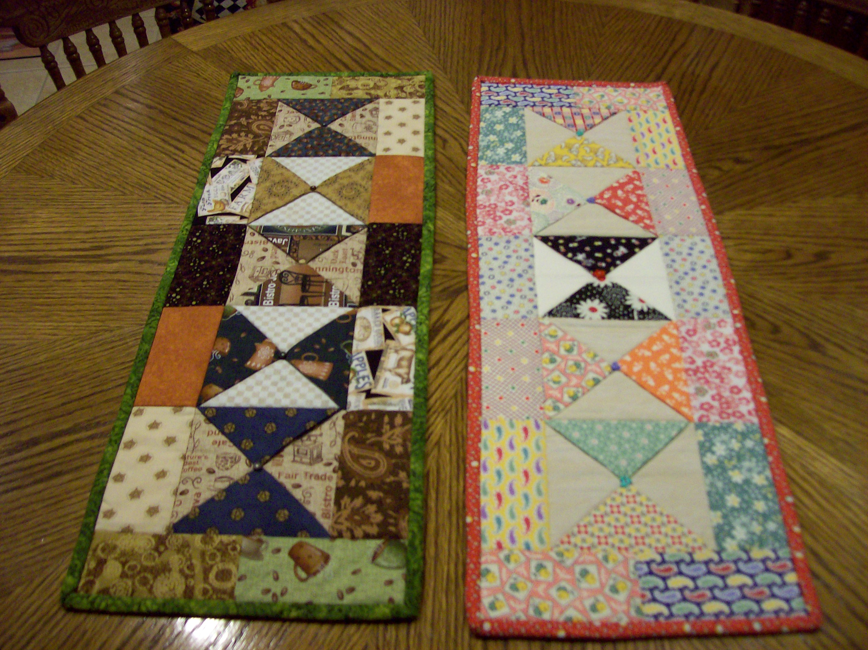 Charm Pack Table Runners – Christa Quilts