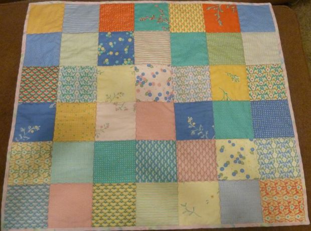 Jenna's Charm Pack Quilt