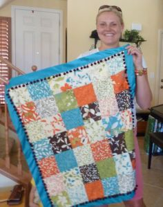 Chrysalis Charm Pack Quilt - Boy