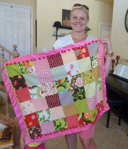 Oops A Daisy Charm Pack Quilt - Girl