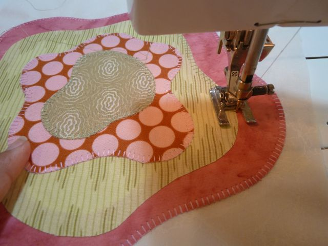 French Roses Machine Applique Quilt Christa Quilts