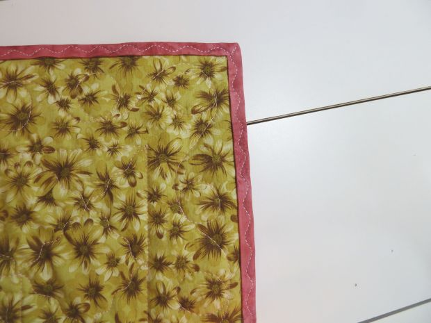 Machine Stitched Binding