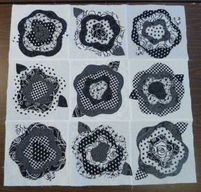 French Roses Blocks