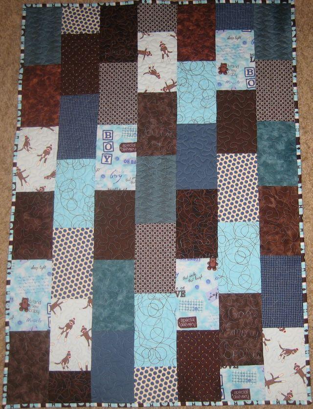 Baby Bricks Free Quilt Pattern Tutorial Christa Quilts