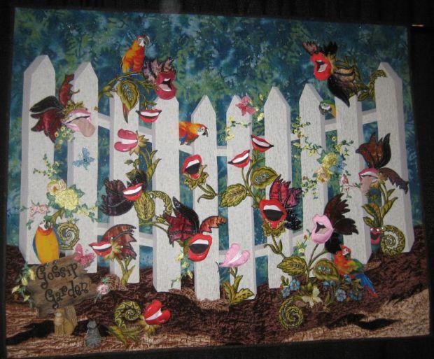 The Gossip Garden Quilt