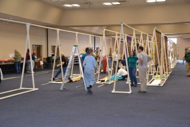 PVC Quilt Frames