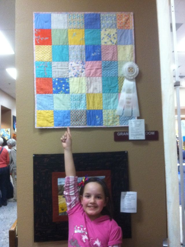 Jenna's 1st Quilt