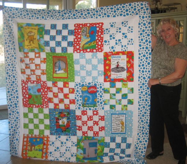 Mom's Lorax Quilt