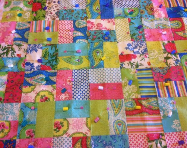 Pinmoor Basted Quilt