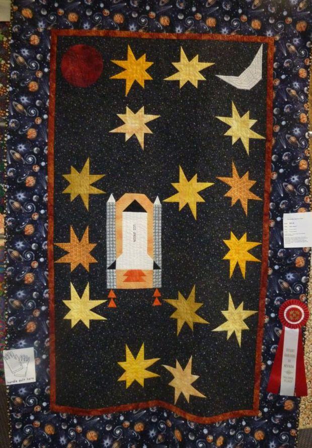 Award Winning Space Quilt