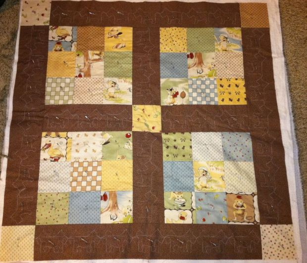 Lil Rascals Quilt Top