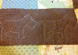 Right Motif Erased After Quilting