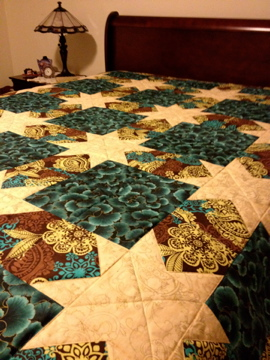 Ellie's Star Quilt