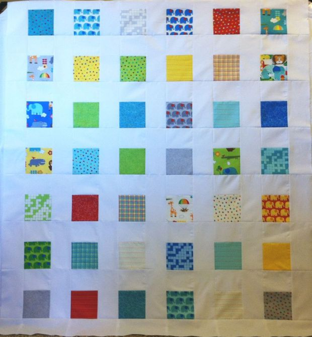 Bungle Jungle Charm Pack Quilt Top