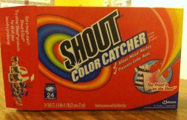 Shout Color Catchers