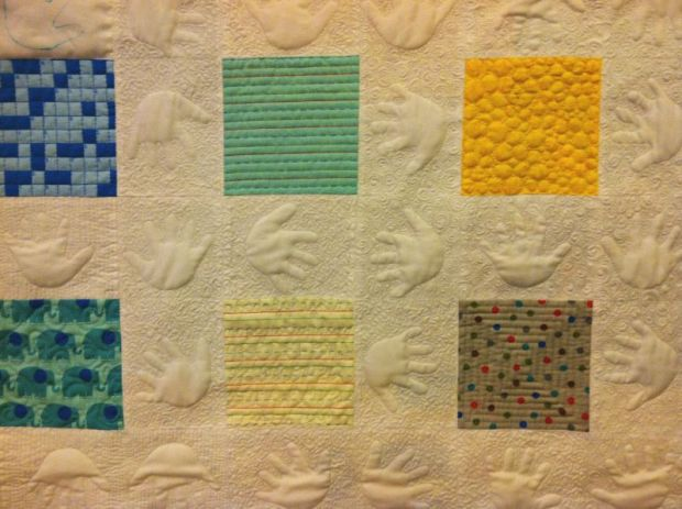 Negative Space Quilting