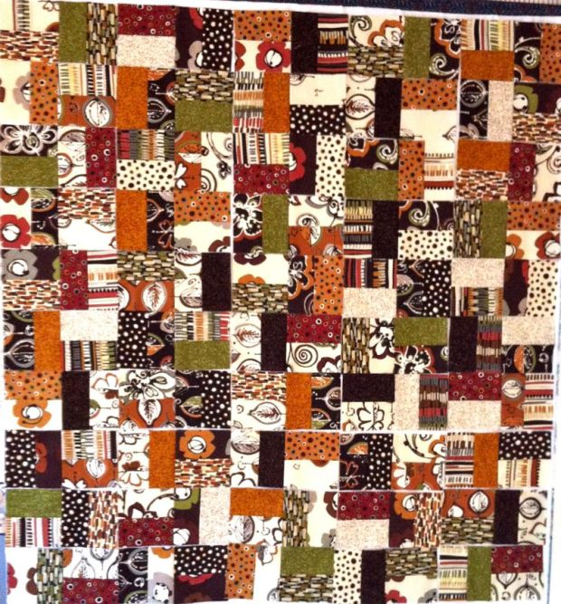Kathie's Jelly Roll Quilt Blocks