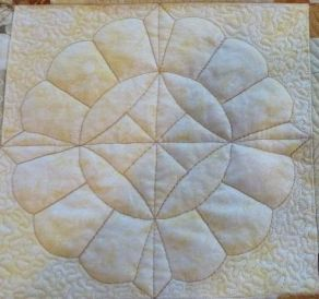 Faux Trapunto Quilting