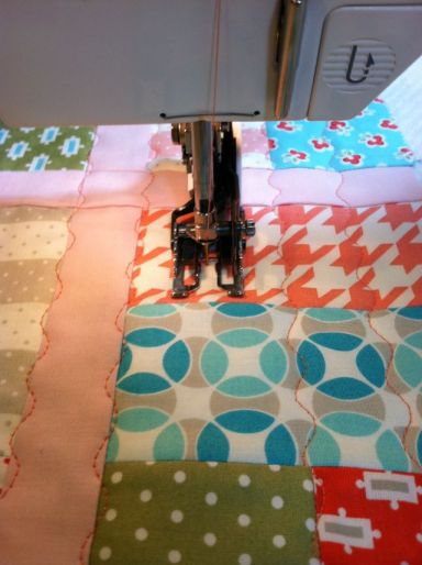 Quilting 1 Inch Apart