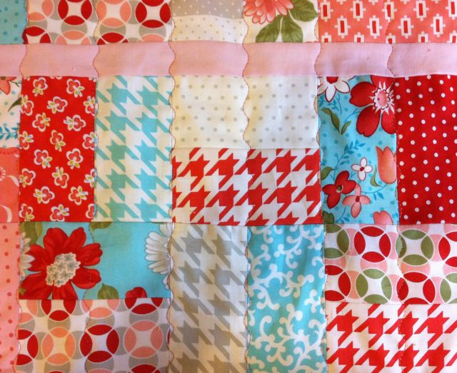 Quilting Parallel Wavy Lines
