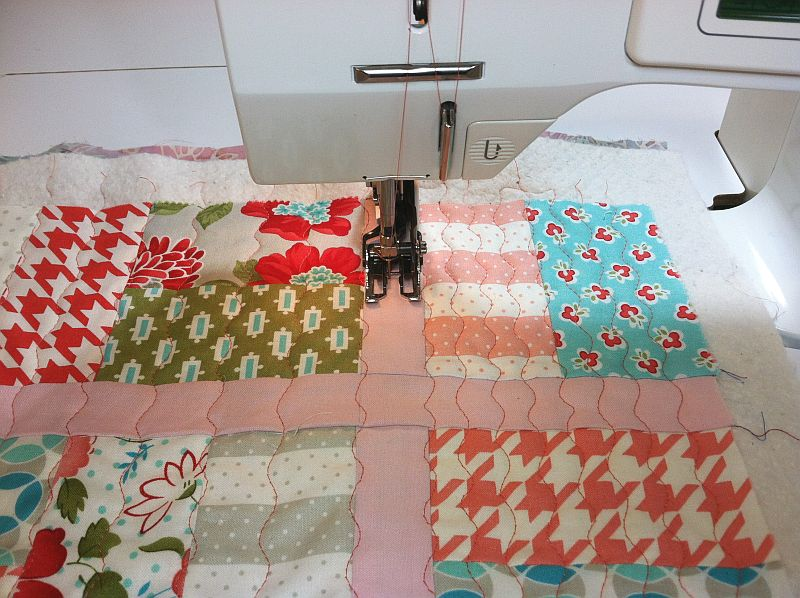 Half Inch Quilting Lines