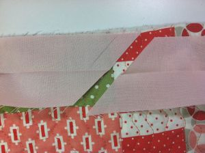 Cut 1/2 Inch Past Marked Line