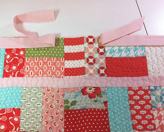 Christa's Quilt Along 1.6 – Machine Binding to Finish – Christa Quilts : joining quilt binding - Adamdwight.com
