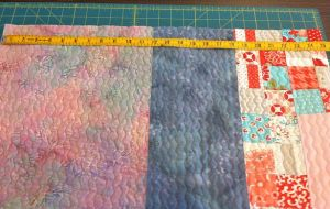 Measure the Quilt Perimeter