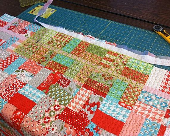 Christa s quilt along 1 6 machine binding to finish christa