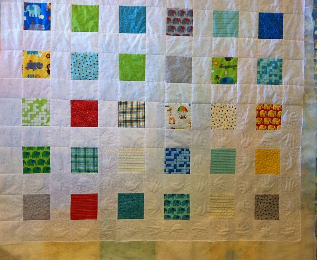 Bungle Jungle Charm Quilt