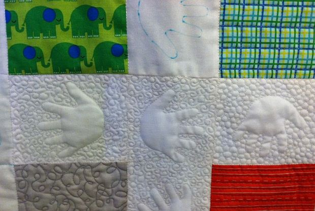 Cucumber Vines Quilting