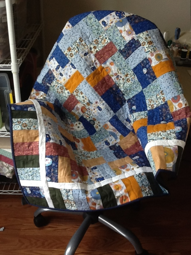 Joanne's Jelly Roll Quilt