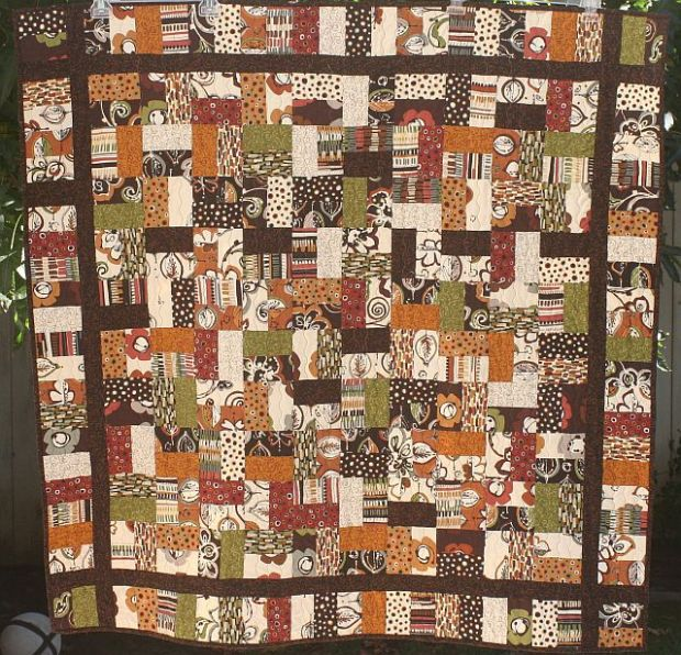 Kathleen's Jelly Roll Quilt