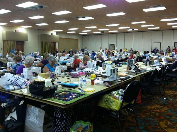 Quilt Retreat 2012