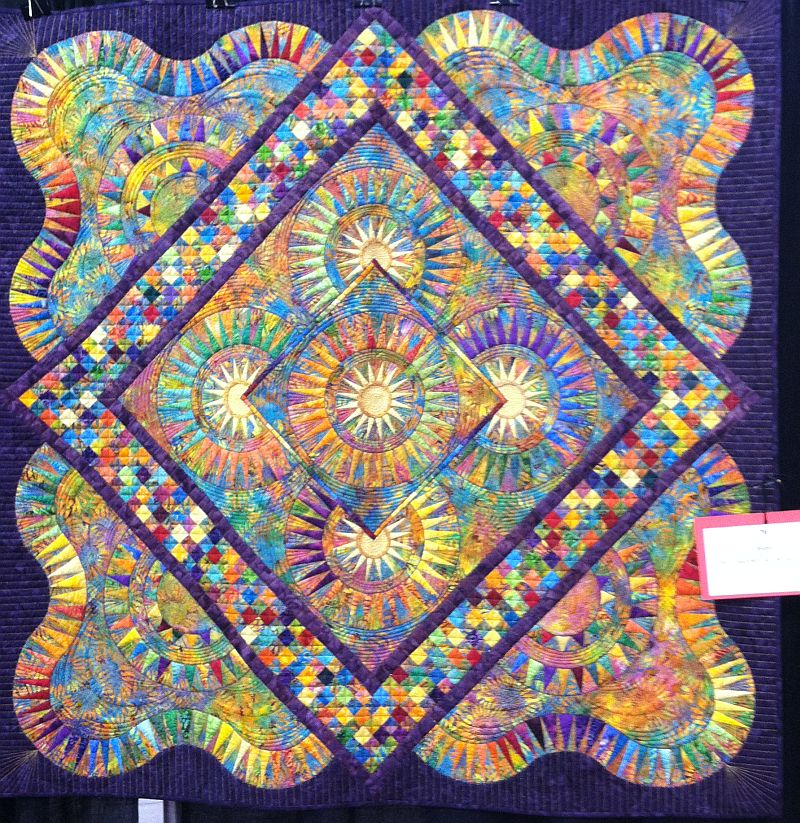 Machine Quilting Tips from Cory Allender – Christa Quilts : award winning quilts - Adamdwight.com