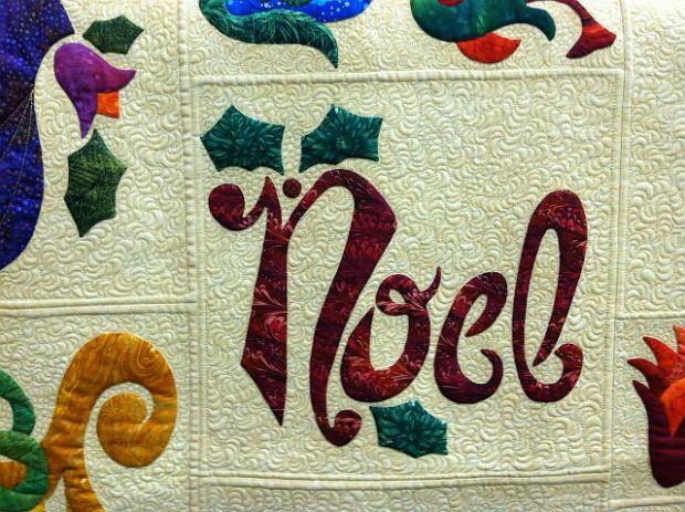 Noel Detail, Top by Diane Johnston