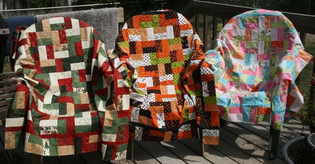 Holiday Jelly Roll Quilts