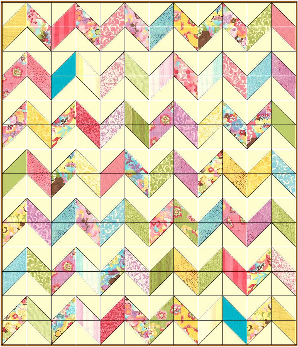 Christa's Quilt Along 3.1 – Charming Chevrons Supply List