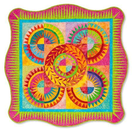 Deb Karasik - Batik Wheels
